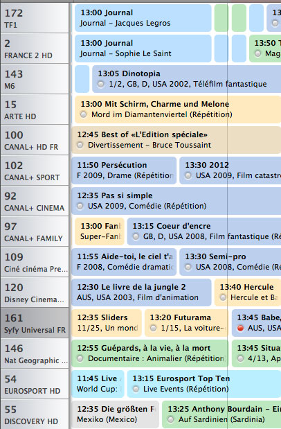 Test de l 39 eyetv sat d 39 elgato - Liste des chaines satellite astra 19 2 est ...