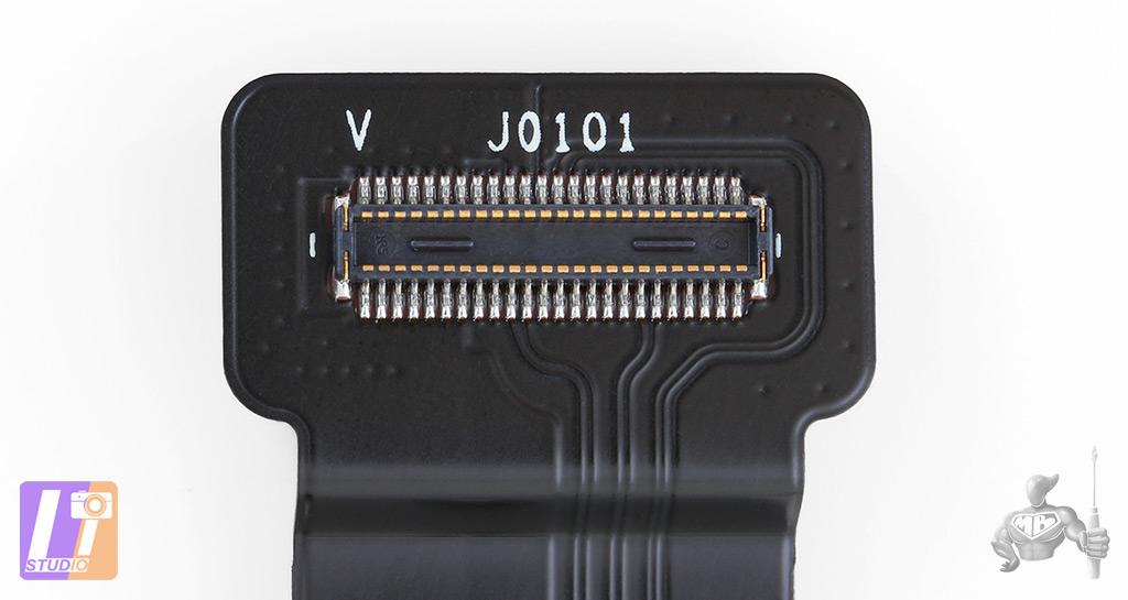 Connecteur de nappe du SSD