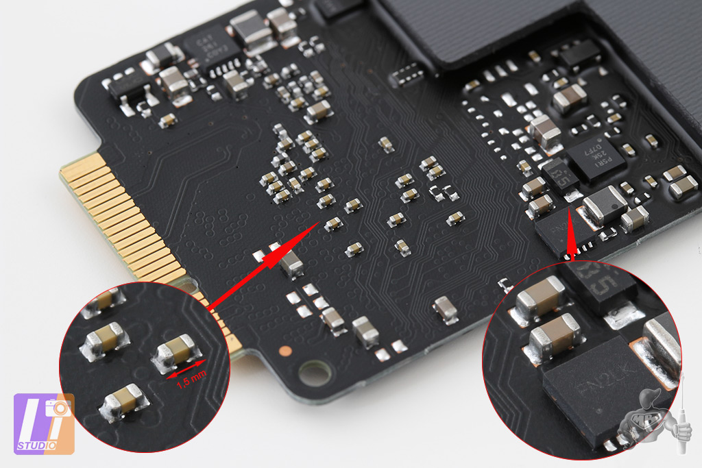 SSD MacBook Pro Retina 13