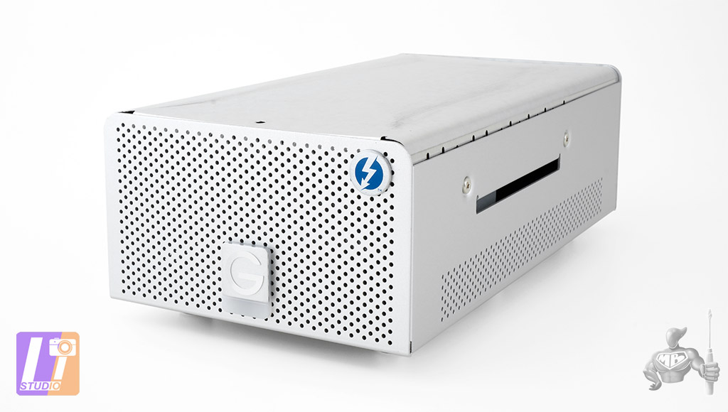 G-RAID Thunderbolt 8 To inside