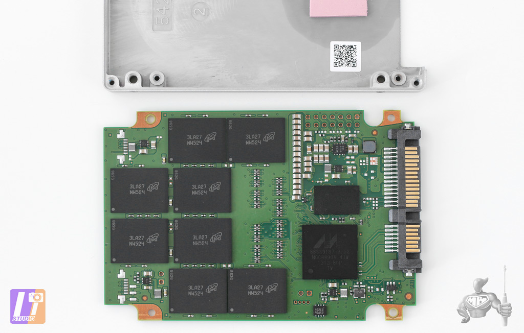 SSD Crucial M500 of 960 Gb