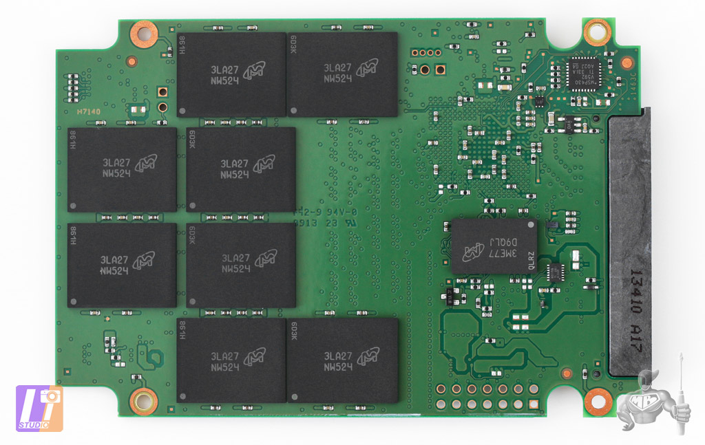 SSD Crucial M500 960 Go - Picture : Sylvain ALLAIN