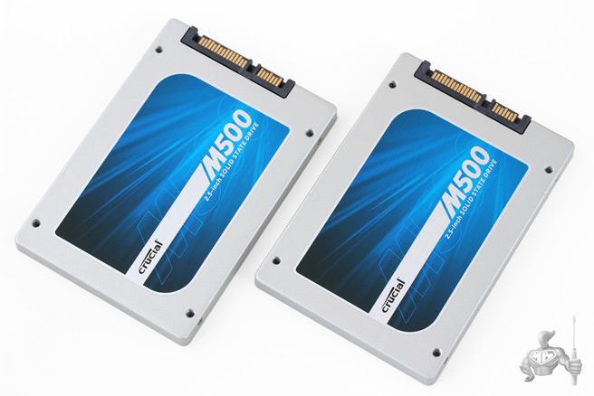 SSD Crucial M500 960 Go