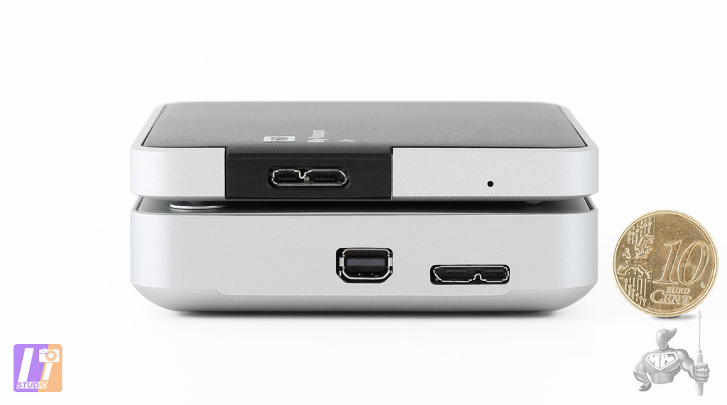 Interfaces Thunderbolt et USB 3.0 -  disque dur 2.5