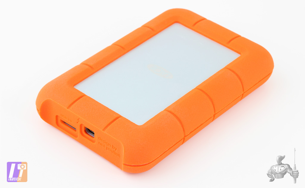 LaCie Rugged 2 To Thunderbolt Series