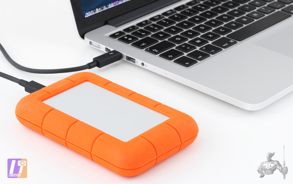 LaCie Rugged 2 To & MacBook Pro Retina 13