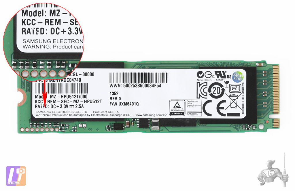 Little Big Disk Thunderbolt 2 - SSD PCI-Express - Copyright Studio Light Image