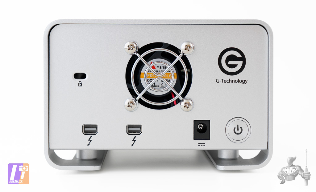 G-RAID 8 To by G-Technology Back-side