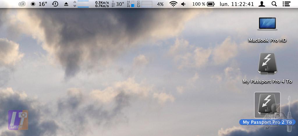 My passport Pro + OS X