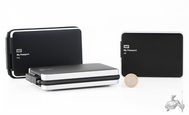 My Passport Pro 2 To and 4 To by WD