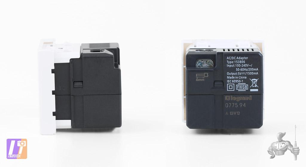 Module Legrand USB 99604