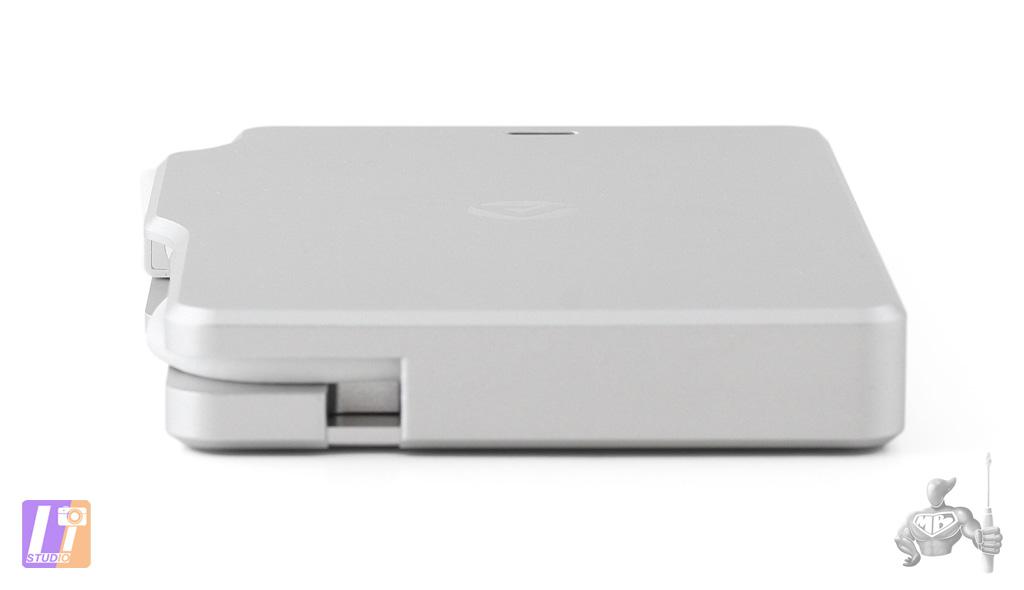 Palm RAID vue connecteur Thunderbolt