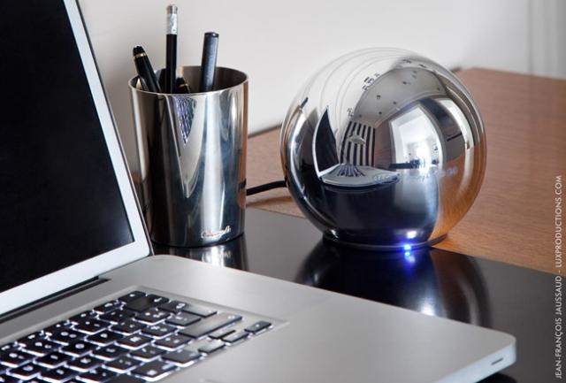 LaCie Sphère + MacBook Pro