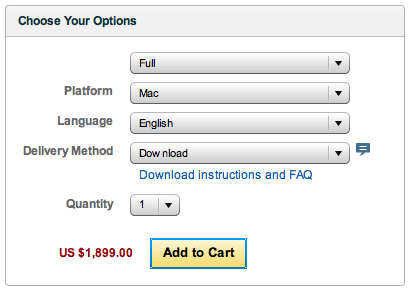CS5 design premium boxed US price
