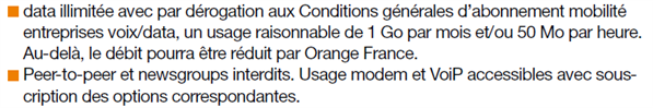 4G: Orange introduit le Fair Use horaire