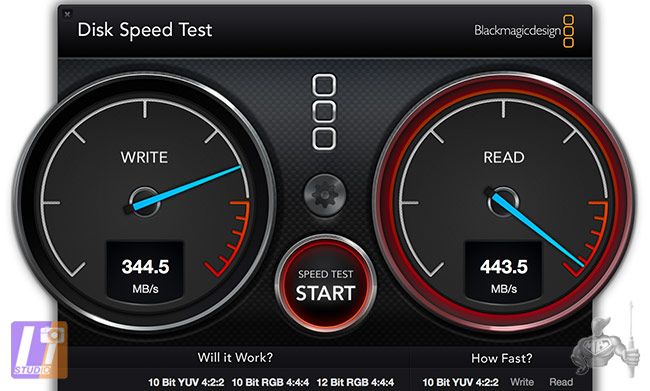 Test SSD via Thunderbolt Target Mode