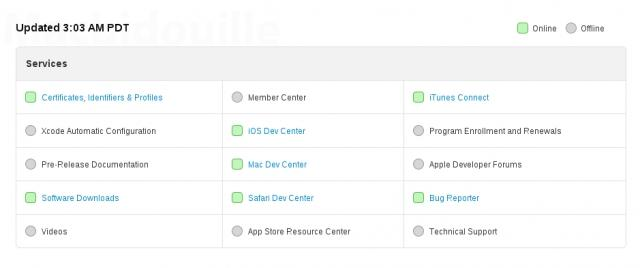 ios dev center update