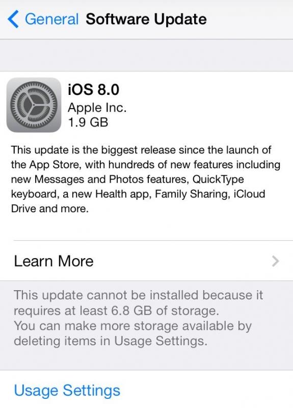 La raison est simple : votre ancien iPhone, iPad ou iPod Touch fonctionne souvent au ralenti sur les dernières versions  iOS. La meilleure chose à faire pour leur rendre plus véloce est deDonc accédez à l'onglet Général> Mise à jour logicielle et téléchargez la  mise à jour OTA iOS 8.4.1 ou iOS 6.1.3.
