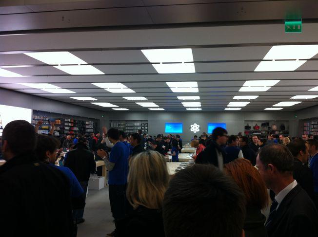 Ouverture Apple Store Nantes