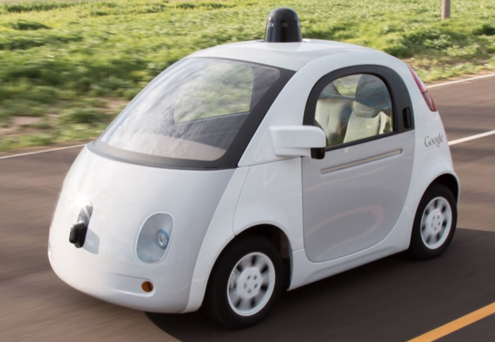 google l che ses voitures sans chauffeur dans les rues de. Black Bedroom Furniture Sets. Home Design Ideas